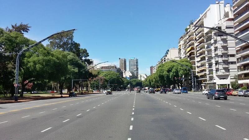 Улица в Буэнос Айрес