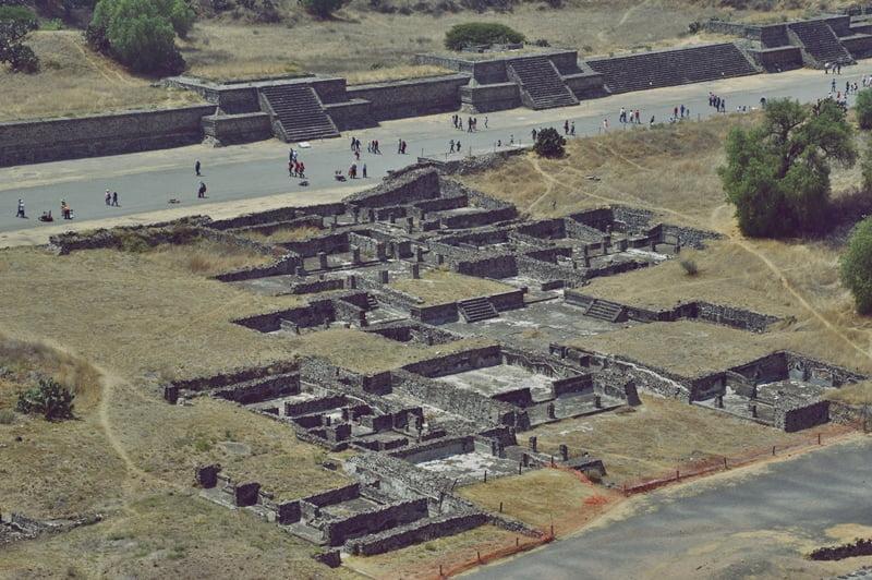 Древний город ацтеков