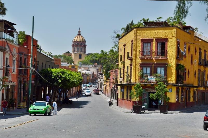 Колониальный город в Мексике