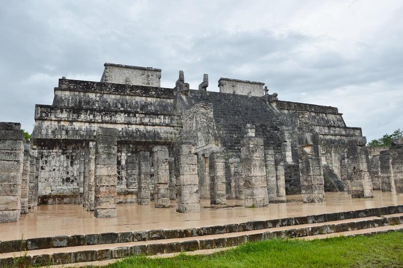 Храм воинов Чичен Ица