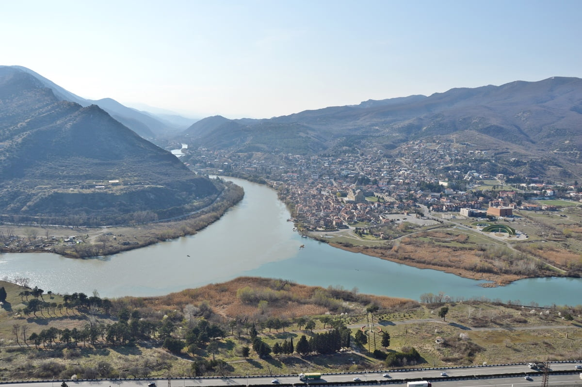 Слияние трех рек Тбилиси