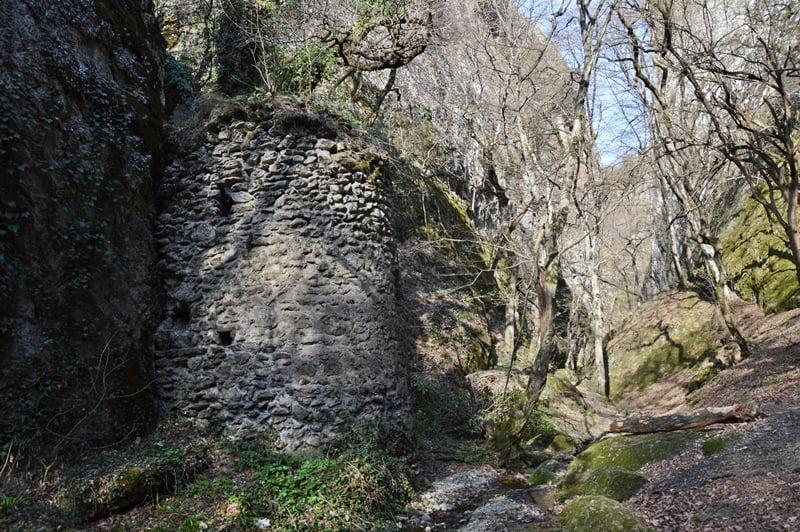 средневековая крепость биртвиси