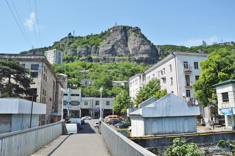 Чиатура город в Грузии