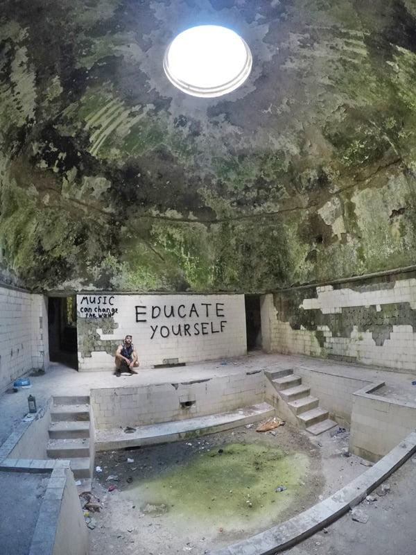 Заброшенные ванны Цхалтубо