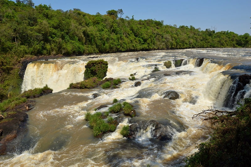 Водопады Парагвай