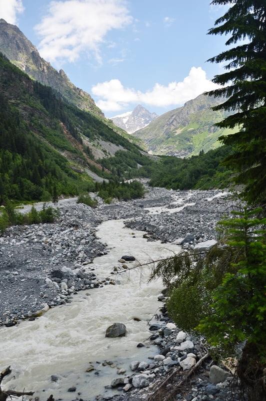 Долина ледника Лекзыр