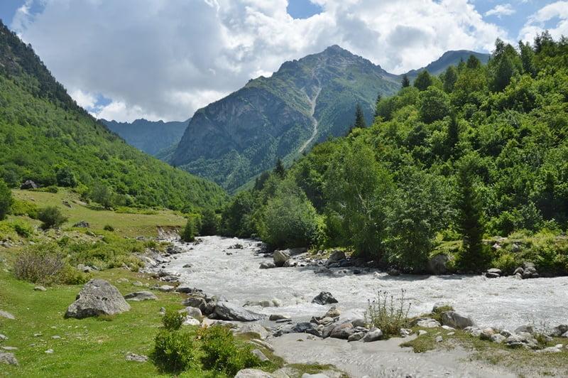 Долина реки Цаннер