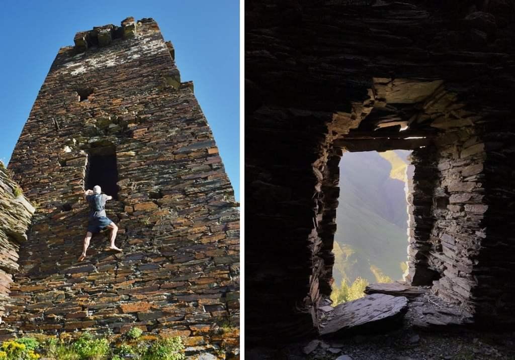 руины в ушгули
