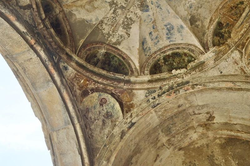 фрески в соборе Баграта