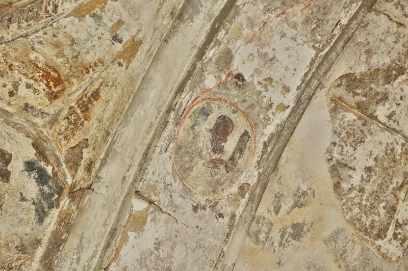 Фрески в соборе Баграта Грузия