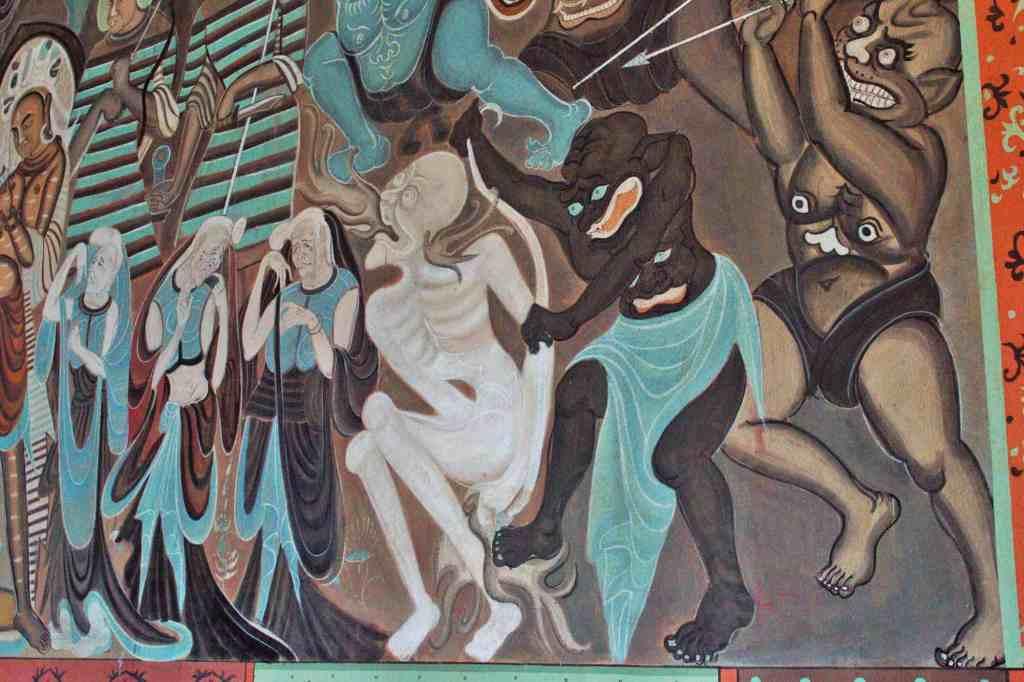 фрески китай