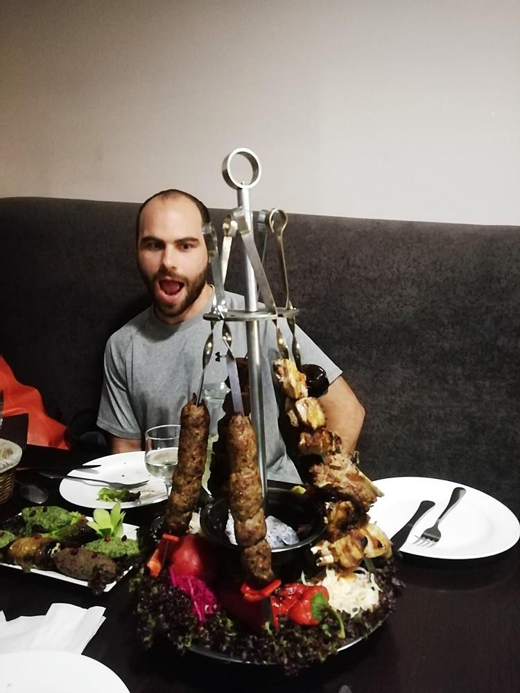 Шашлык мцвади Грузинская кухня