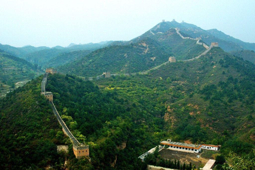 Великая китайская стена в Сыматай
