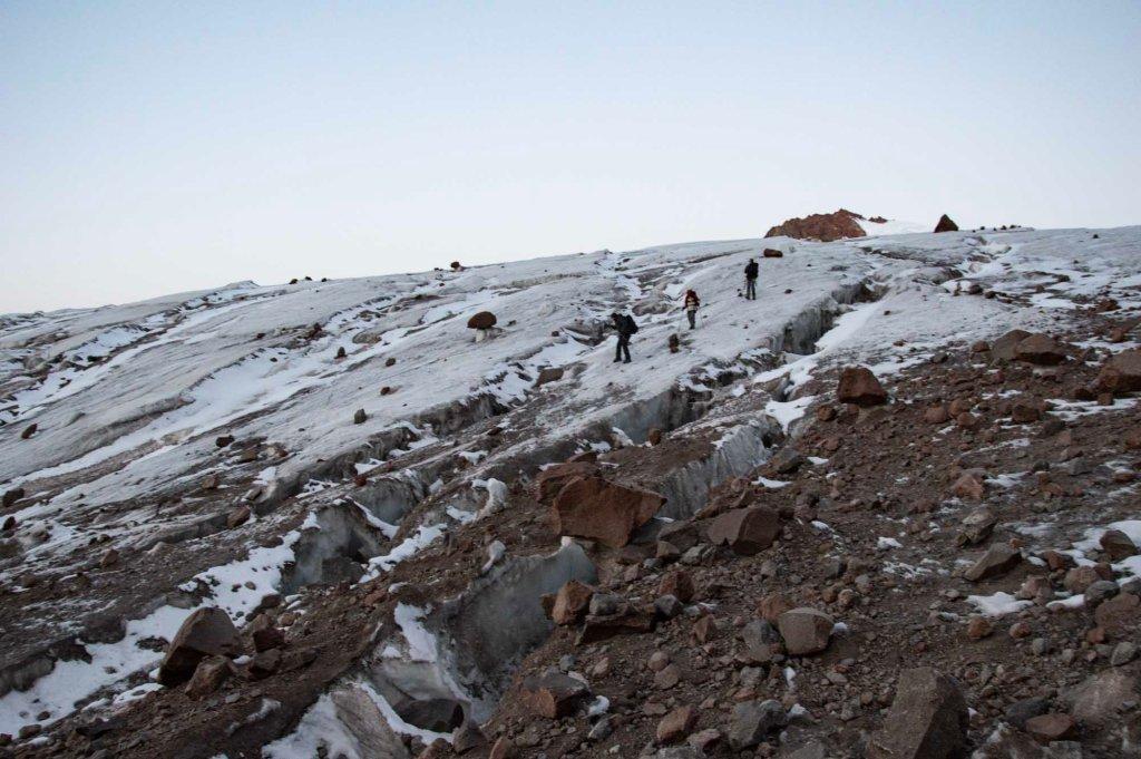Трещины в леднике
