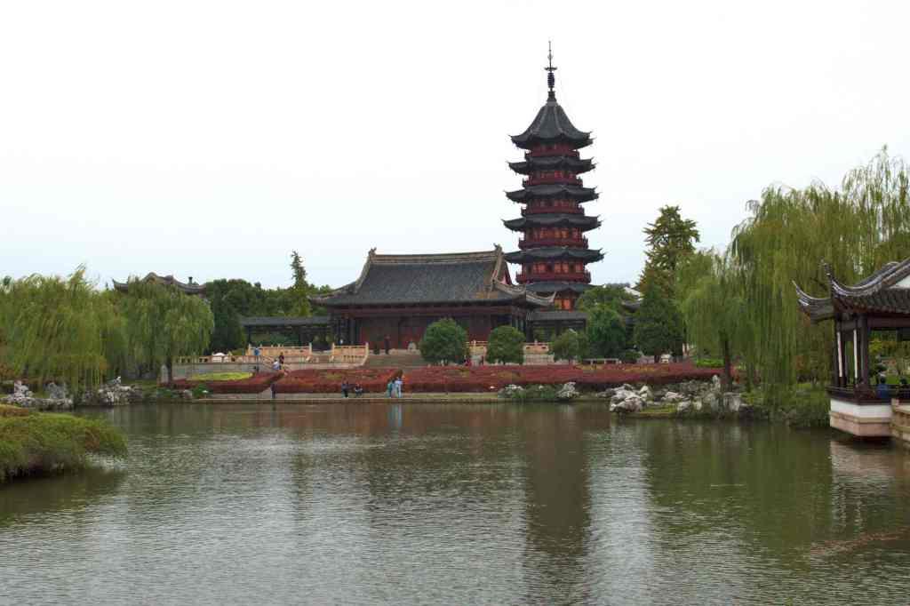 Пагода в Сучжоу