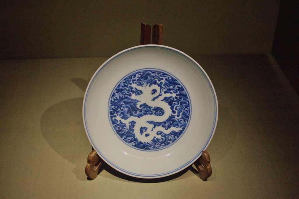 Сине-белая роспись Китай