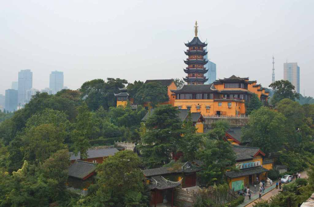 современный китайский мегаполис