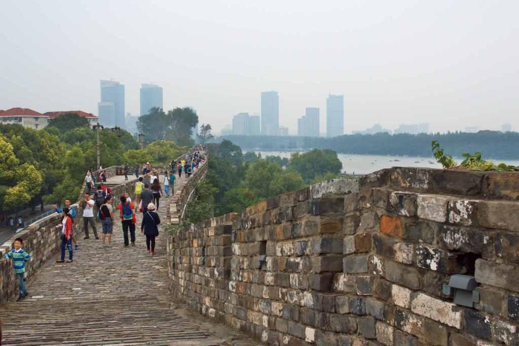 Городская стена в Нанкин
