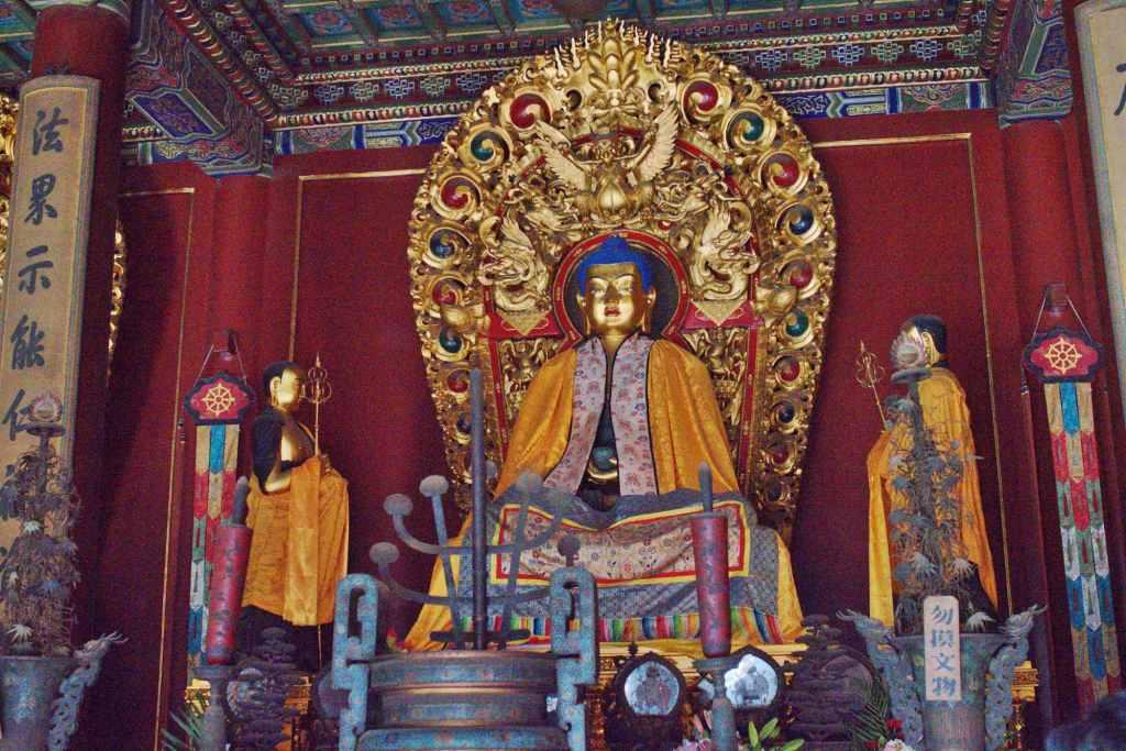 Интерьер храма Ламы