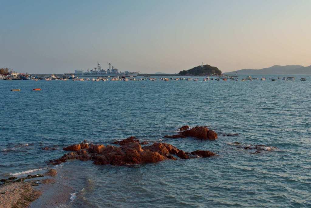 Портовая зона Циндао