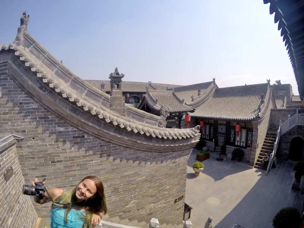 Крыши Китая