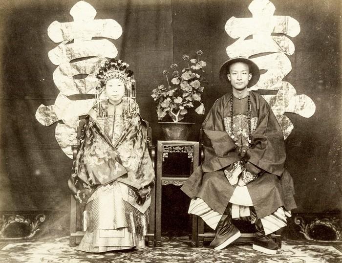 Члены императорской семьи Китая фото