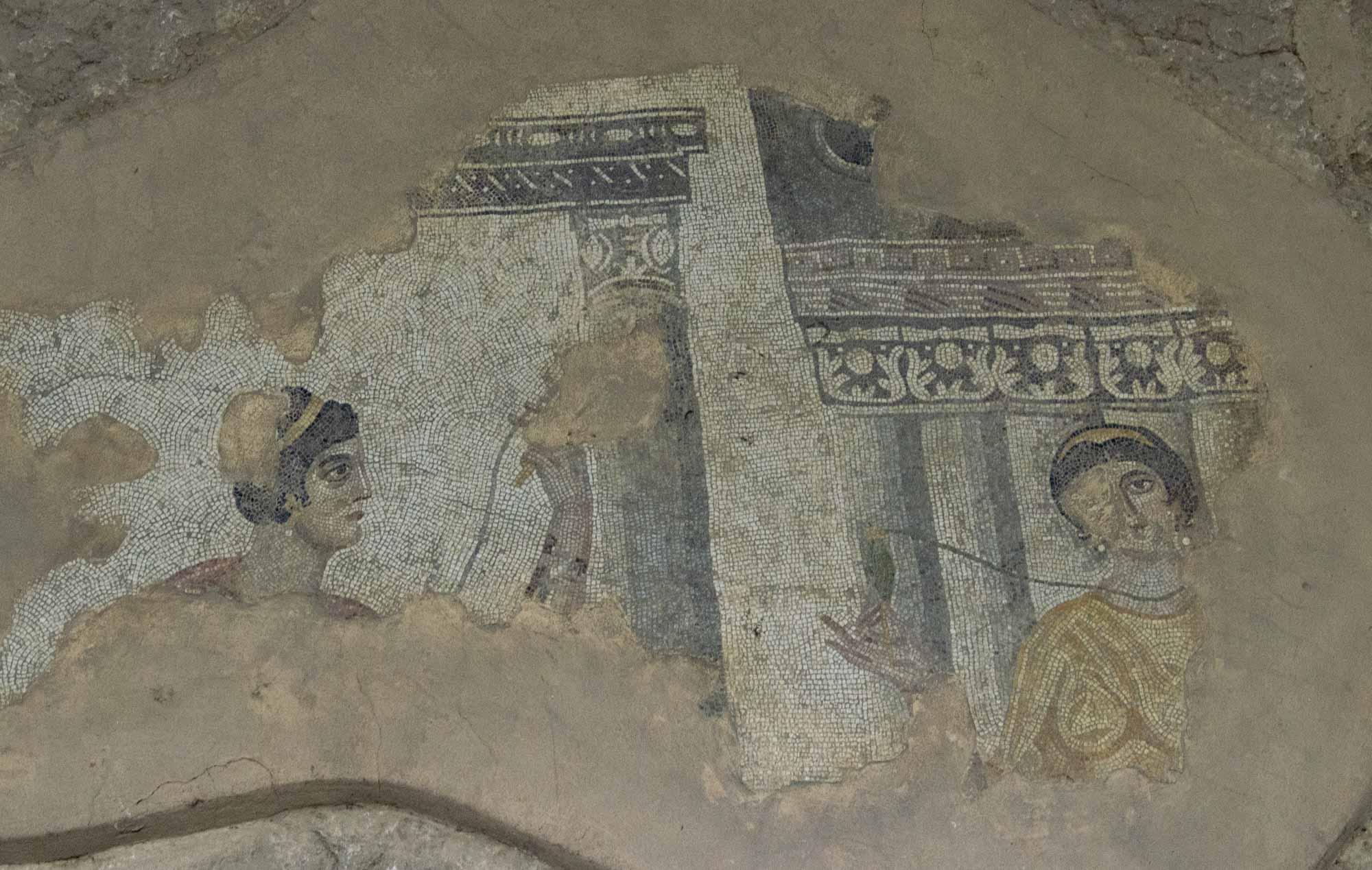 Фотография из музея мозаики в Шанлыурфе