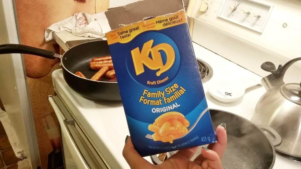 Kraft Dinner канадская кухня
