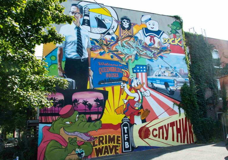Граффити в городе Монреаль