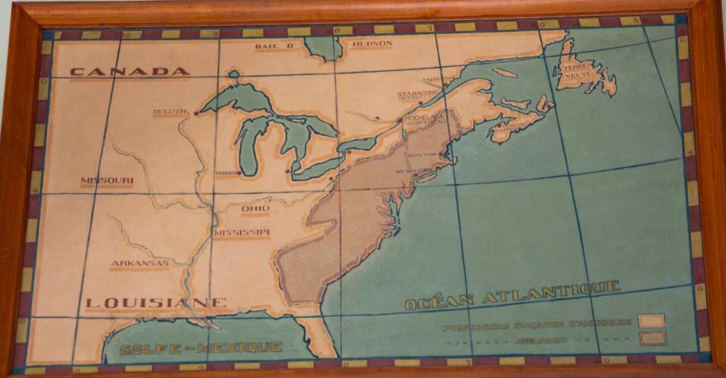 Карта заселения Северной Америки