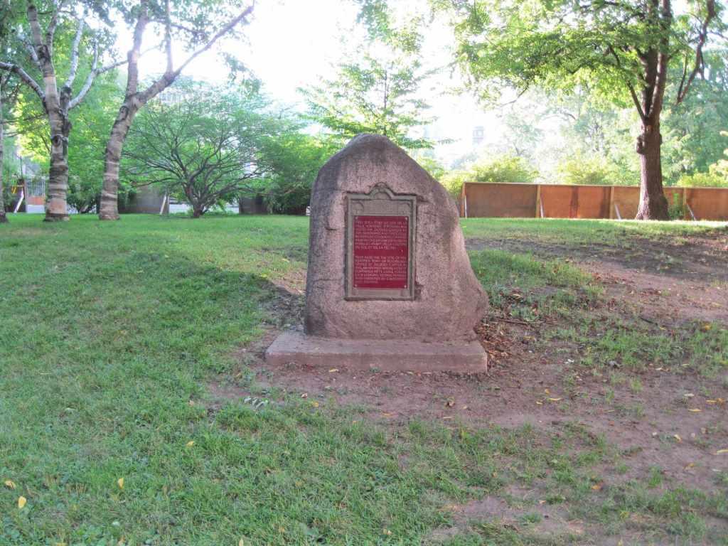 Памятник североамериканским аборигенам