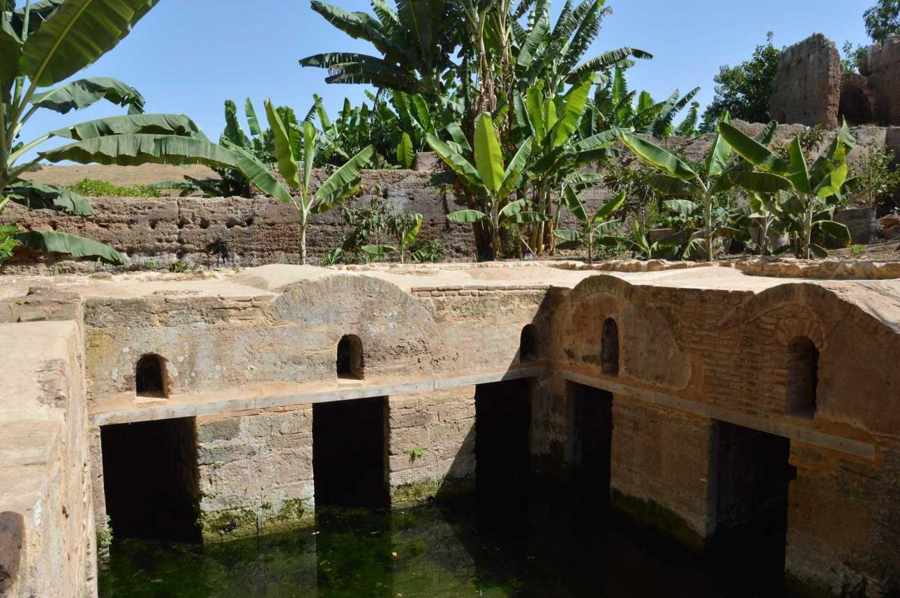 Заболоченный бассейн времен Римской империи