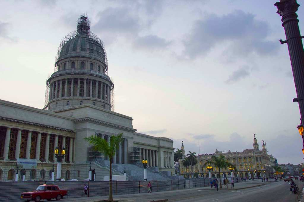 Здание Капитолия на реставрации 2017 год