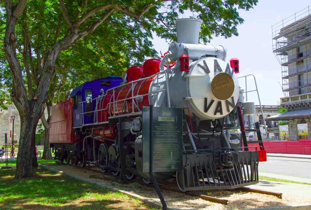 El tren de la musica cubana