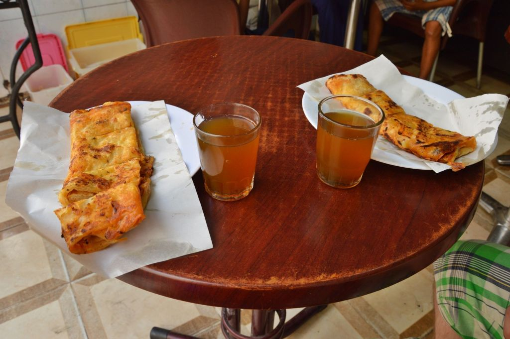 Обед в Марокко