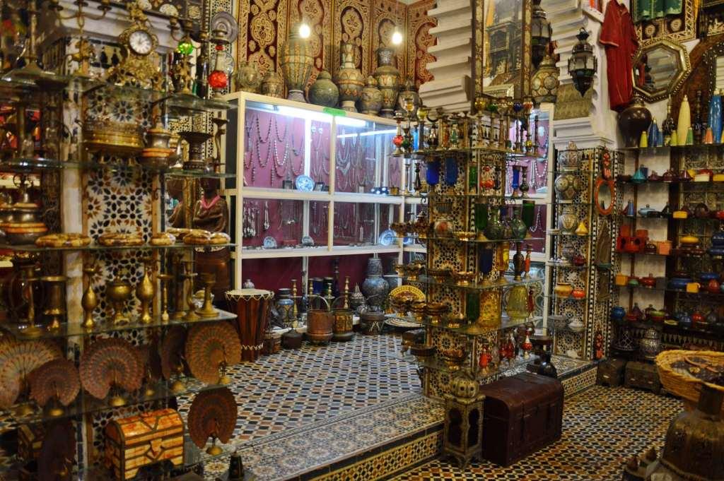 Сувенирная лавка в Марокко
