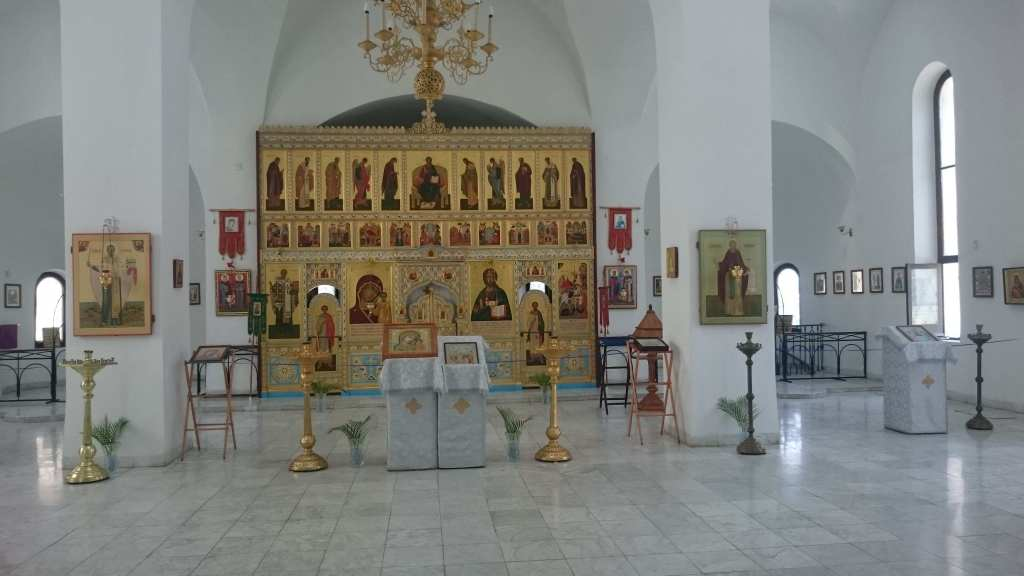 Интерьер православного храма Гавана