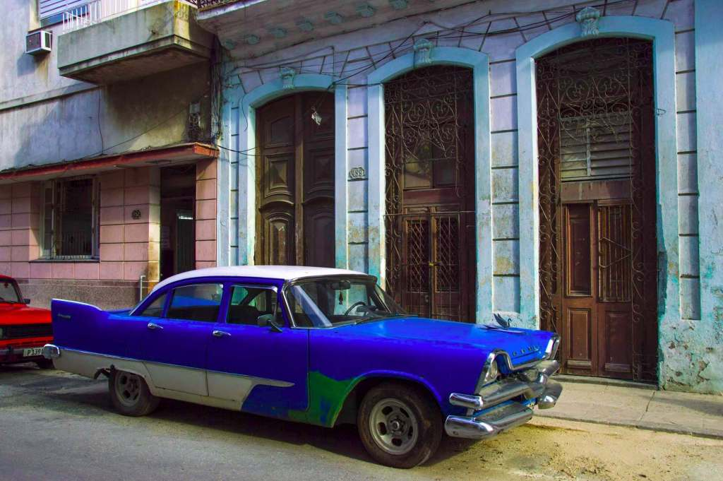 vintage car Куба