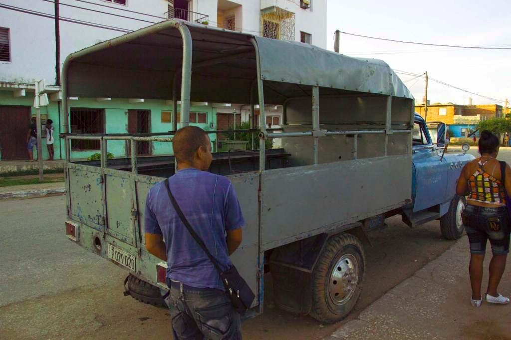 Камьон - транспорт Куба