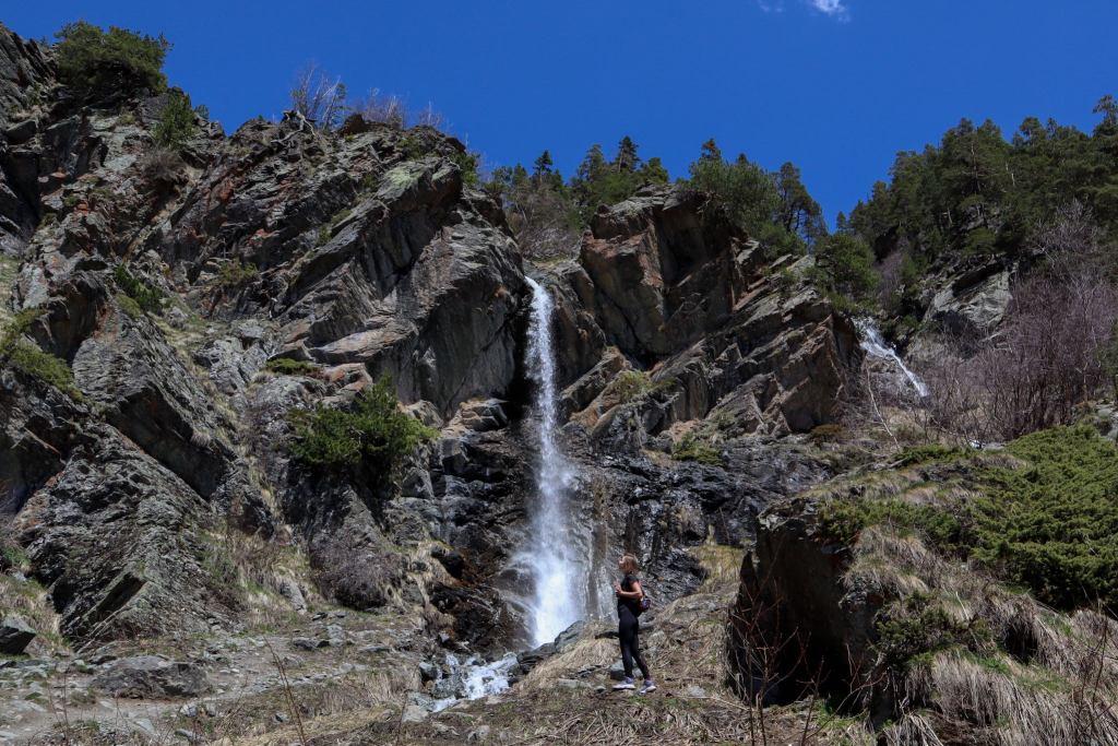 Фото баритовый водопад архыз