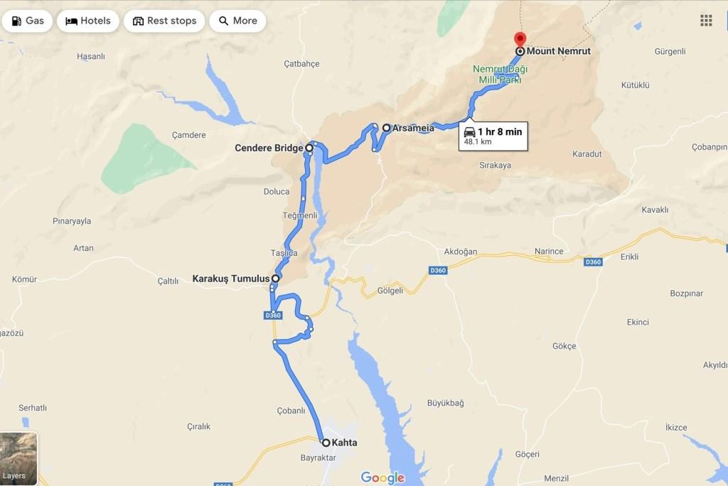Тур Адыяман - гора Немрут и Арсамея