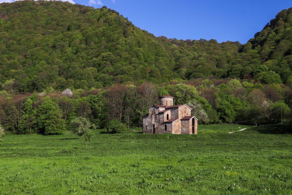 Христианство на Кавказе - Средний Зеленчукский храм
