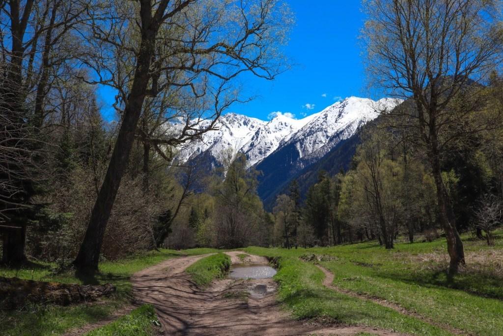 дорога на Кавказе