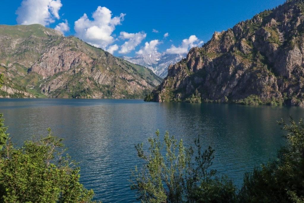 озеро Сары-челек летом