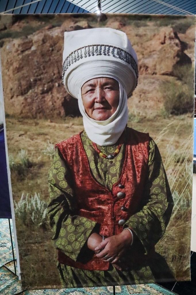 национальный костюм киргизов