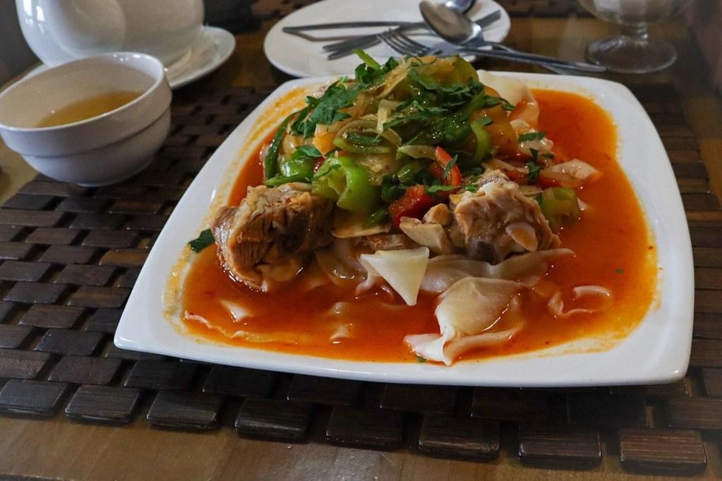 Дапанджи — киргизская кухня