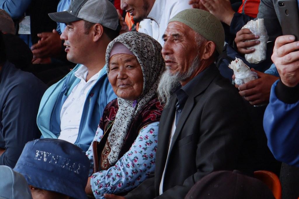 Пожилые кыргызы