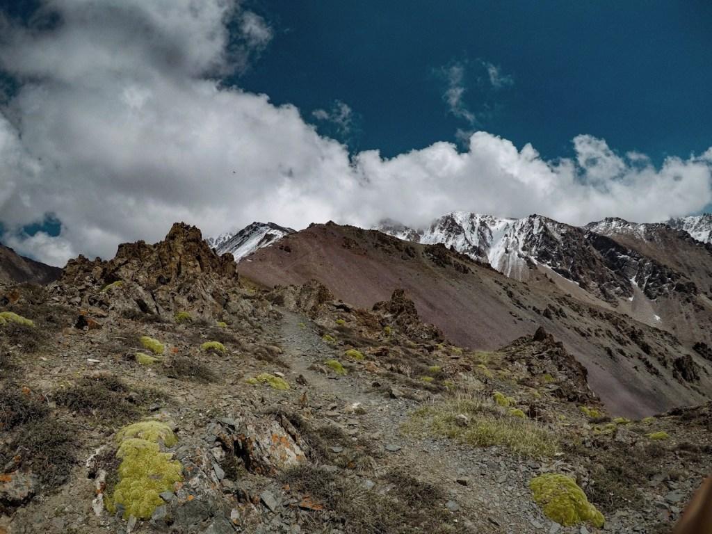 горный пейзаж Кыргызстана
