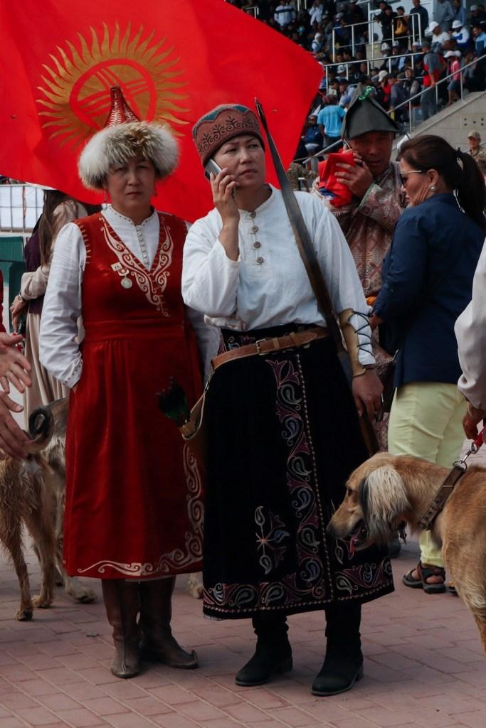 Киргизское национальное платье