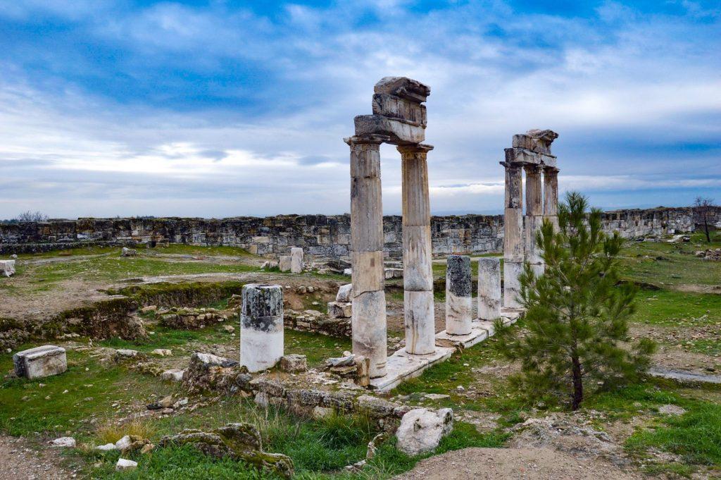 Развалины античного города в Турции